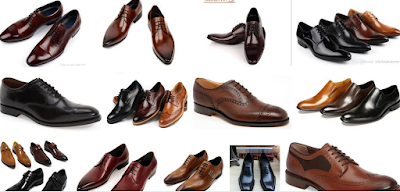 brown and black corporate shoes for men