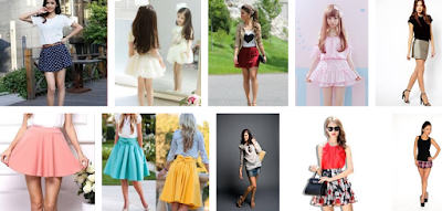 cute short skirts for ladies