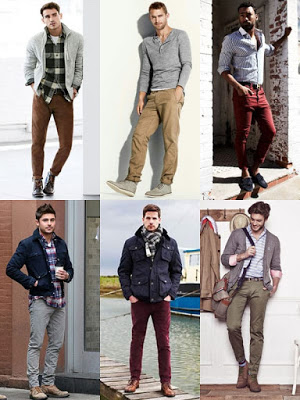 designers sweaters or jacket on top of a bright t-shirt for men