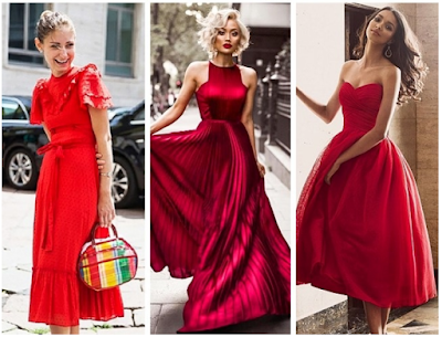 recommended red gown styles