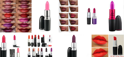 red, pink or purple lipsticks for ladies