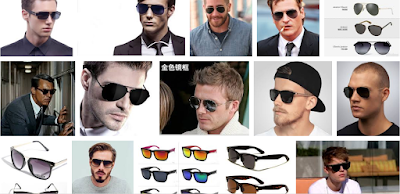 sun glasses for men's different face shape