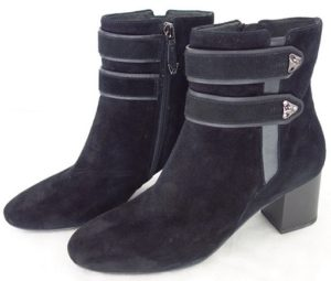 Ankle Boots 38 Leather Suede Shoes