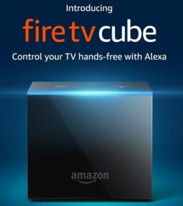 Fire TV Cube - 4K Ultra HD Streaming Media Player
