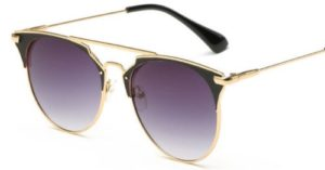 Luxury Vintage Round Cat Eye Sunglasses For Women 2