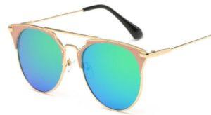 Luxury Vintage Round Cat Eye Sunglasses For Women 3
