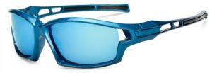 Men's UV400 Polarized Lens Driving Outdoor Sports Sunglasses - blue