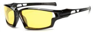 Men's UV400 Polarized Lens Driving Outdoor Sports Sunglasses -yellow