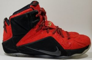 Nike Air Men's LeBron XII Ext - side view