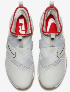 Nike Lebron Soldier 12 XII Basketball Shoes - top view