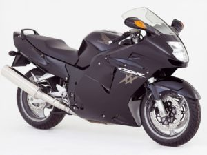 Honda CBR1100XX Super Blackbird sports bike