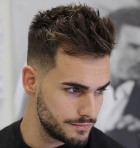 Short Sides Hairstyle with Medium Length on Top