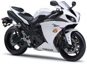 Yamaha YZF R1 sports bike