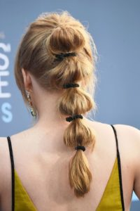 baloon ponytail Hairstyle for ladies