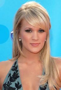 carrie underwood Hairstyle for ladies