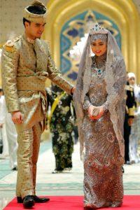 princess haja's royal traditional wedding gown