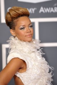rihanna's mohawk Hairstyle for ladies