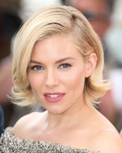 sienna miller's short Hairstyle for ladies