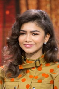 zendaya brushed-out waves Hairstyle for ladies