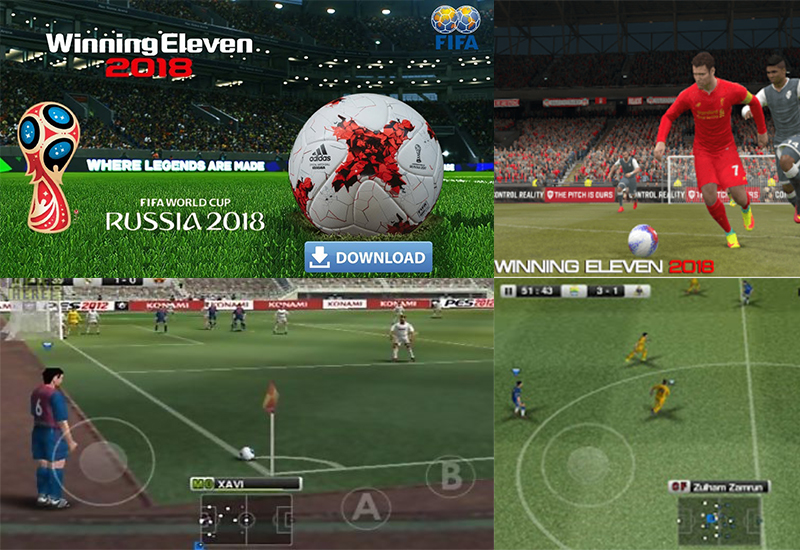 Latest Winning Eleven 2018 apk mod obb download