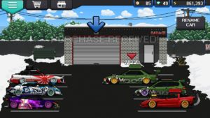 Pixel Car Racer android game