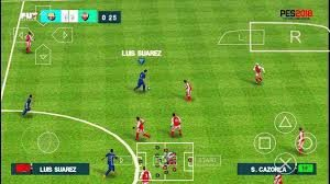 play pes 2018 game on android