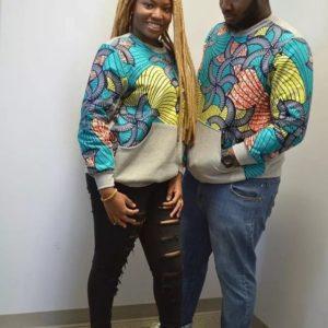 ankara jacket style for couples