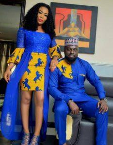 ankara mixed fashion style for couples
