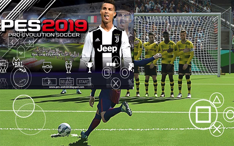 Download and Setup PES 19 Apk Mod + Obb Data for Android