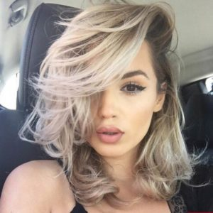 hot slayglam beauty hairstyle