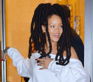 Rihanna Faux Loc hairstyle