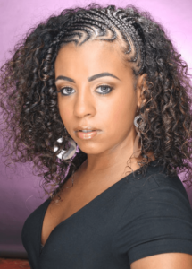 short curly natural hair braids styles