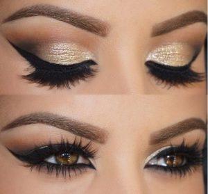 Cute Eyeliner Style for Brown Eyeballs