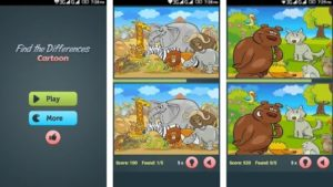 Find the Differences apk - Best Cartoon game