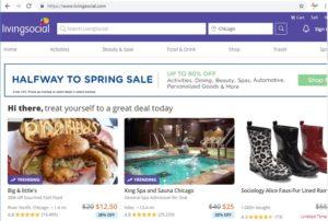 Livingsocial - best local promo deals site