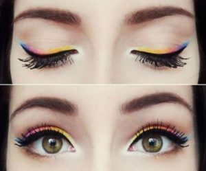 Multi Color Eyeliner Style