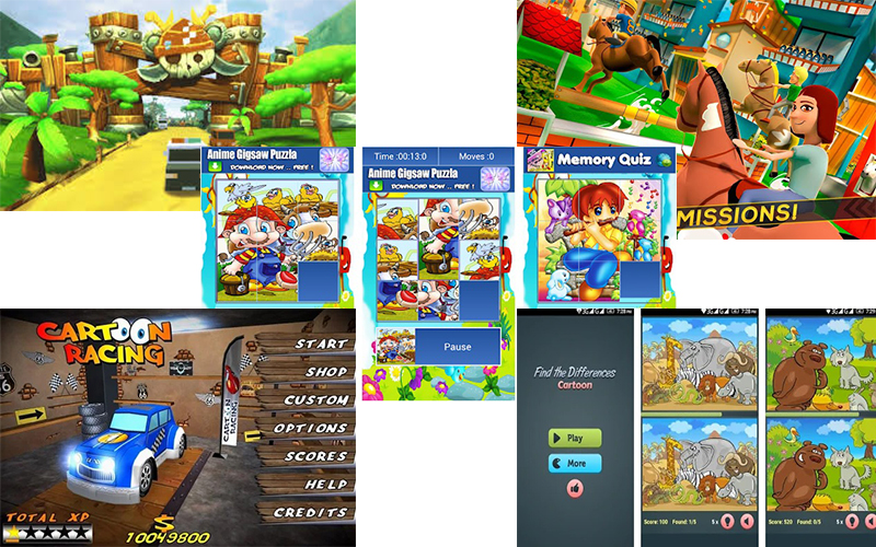 best 3d cartoon apk games to download and play