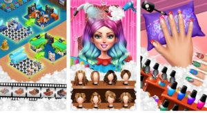 makeup spaholic hair salon - best android salon game