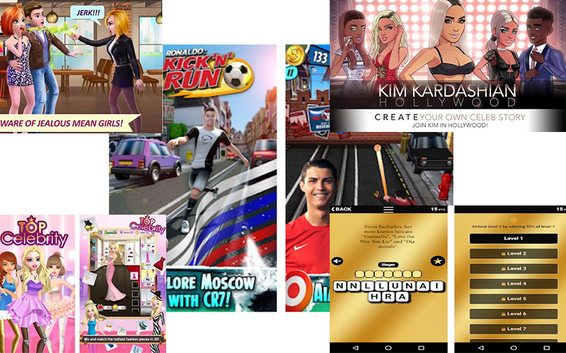 top celebrity simulation games on google play store