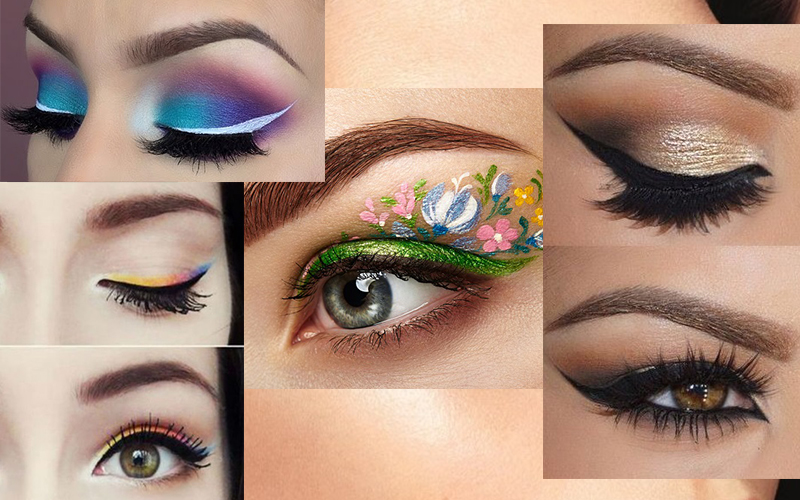 Trending eyeliner styles for celebrities