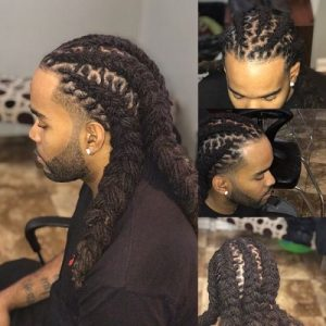 Adorable Mens Loc Style
