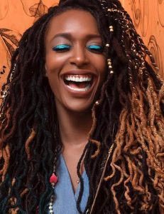 Ombre Dreadlock hairstyles for ladies