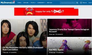 mydramalist asian movie site