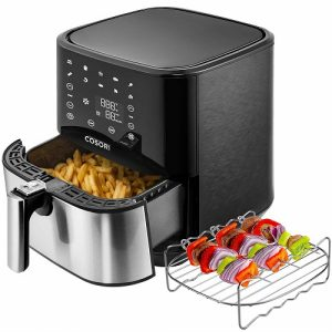 COSORI Stainless Steel Air Fryer - 5.8 Qt