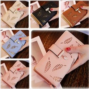 Clutch Leather Wallet Long Card Holder Phone Bag