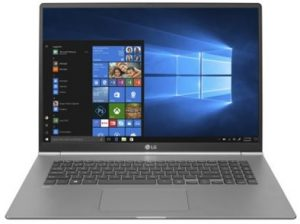 LG Gram 17 best wide screen laptops for programming and gaming