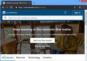 Linkedin Learning - fomer lynda web development tutorials