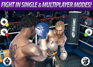 Real Boxing android fighting game