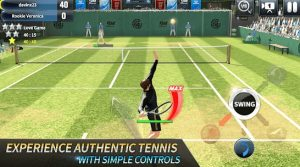 Ultimate Tennis best 3d online apk game