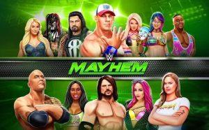 WWE Mayhem best android wrestling multiplayer game